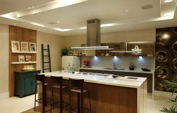 cozinha gourmetespaço integrado