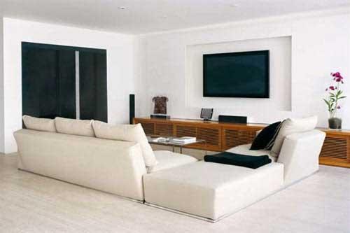 Sala Pequena Com Tv Grande ~ Qual o tamanho ideal de TV para cada sala?  Giacomelli Blog