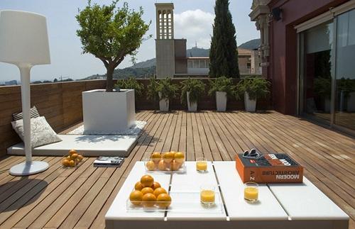jardim e o deck!  Giacomelli Blog  Imobiliária em Florianópolis