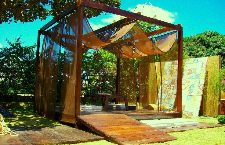 gazebo jardim madeira:Gazebo: espaço de lazer e descanso no jardim – Giacomelli Blog