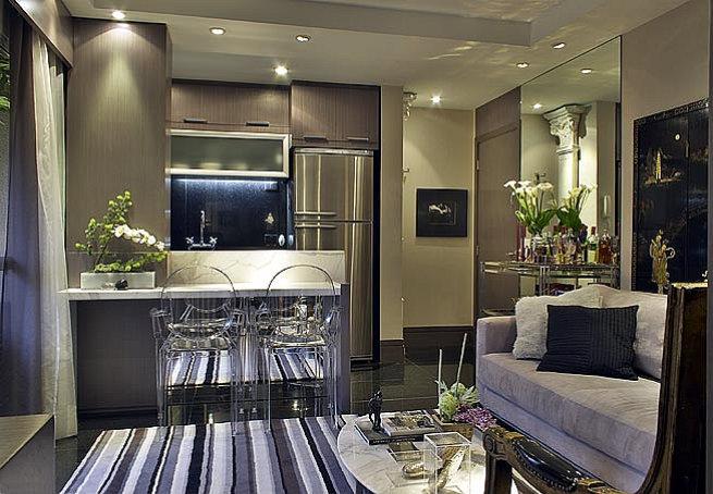 decoracao de ambientes pequenos e integrados : decoracao de ambientes pequenos e integrados:Cozinha integrada com a sala – Giacomelli Blog – Imobiliária em