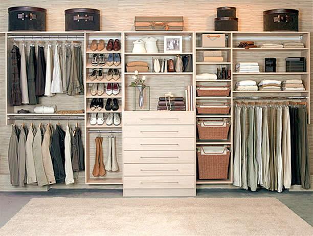 Armário planejado ou embutido Giacomelli Blog  ~ Quarto Planejado Pequeno Casal Com Closet