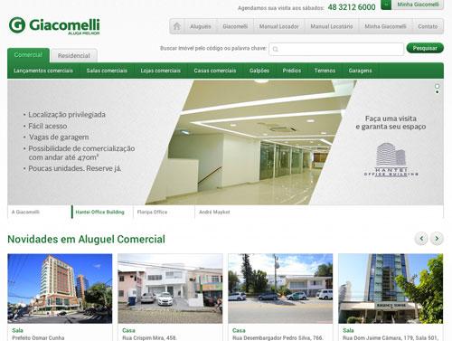 novo site giacomelli